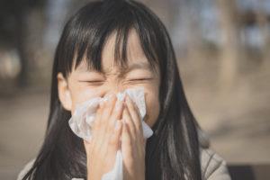 鼻はり 花粉症